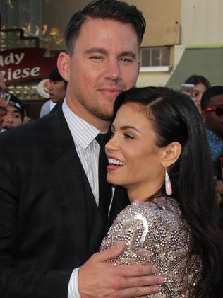 Channing Tatum and wife, Jenna Dewan Tatum. Picture: MEGA