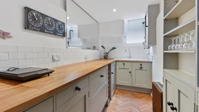 The kitchen on the ground floor.. Picture credit: Winkworth/TheSun