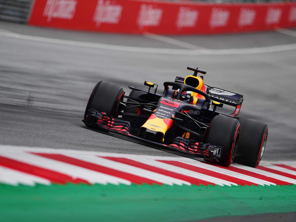Daniel Ricciardo could only finish seventh in qualifying for the Austrian GP.