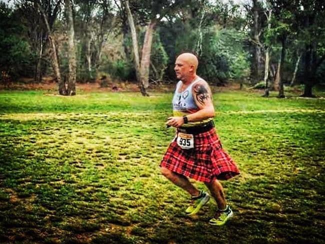Jason is now vice president of mental health charity Sirens of Silence and has run 22 marathons.
