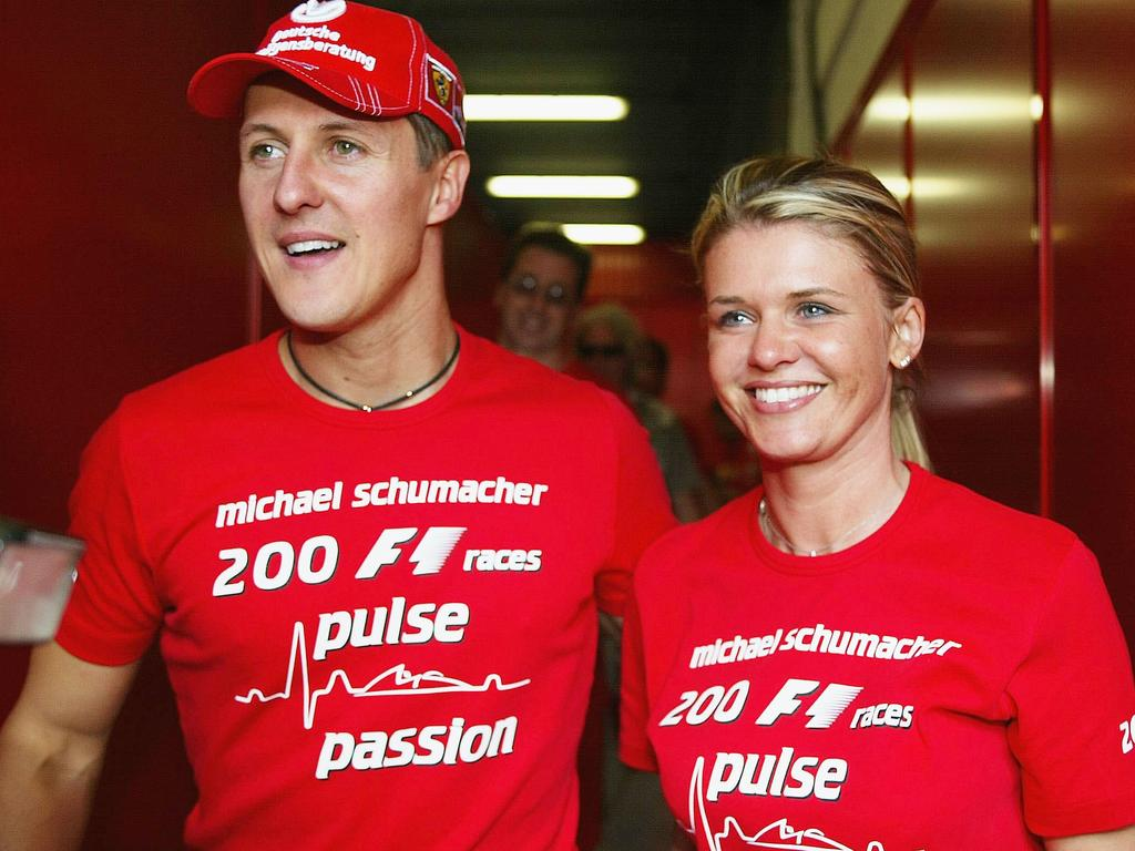 Fresh details of Schumacher's recovery emerged in August.