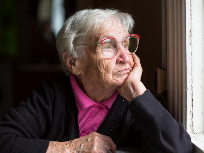 Our elderly population is forgotten and left to languish in a 'living nightmare'. Picture: iStock