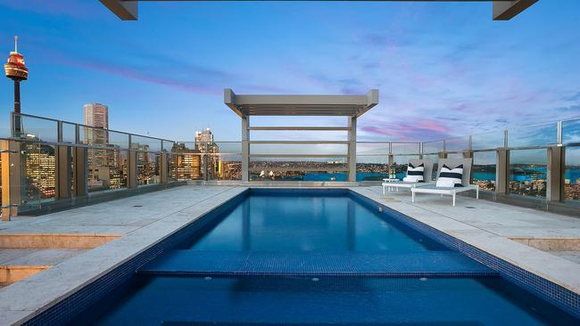 Is this Australia's greatest view from a pool? Picture: Supplied