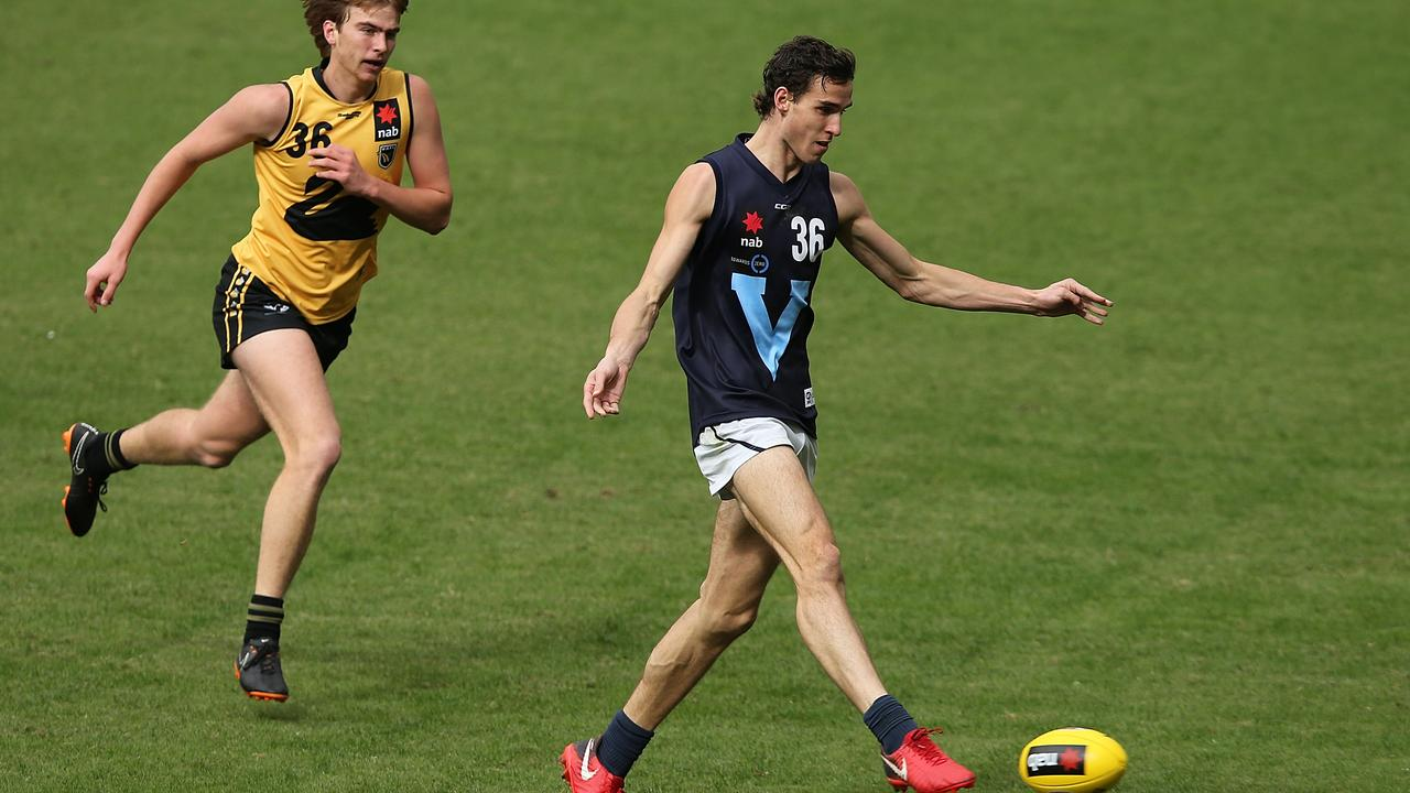 Ben King booted five goals against Western Australia in the Under 18 Championships. Photo: Paul Kane/Getty Images.