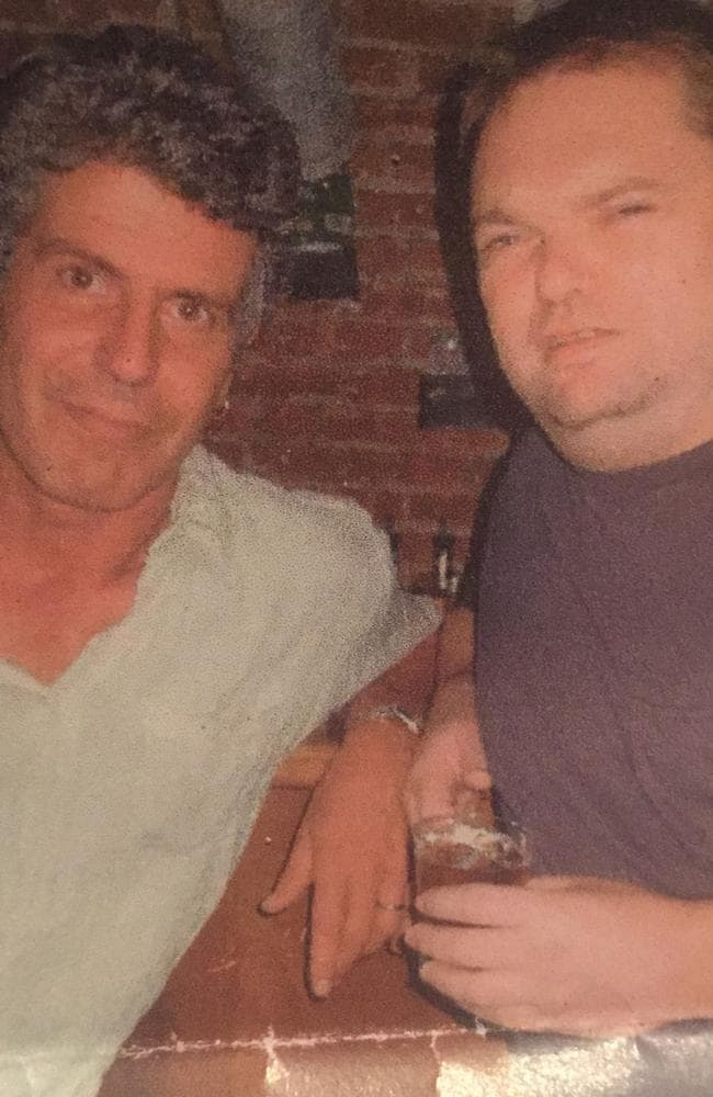 Anthony Bourdain and his friend Tracy Westmoreland at the legendary New York drinking hole Siberia bar, which the late author wrote about.