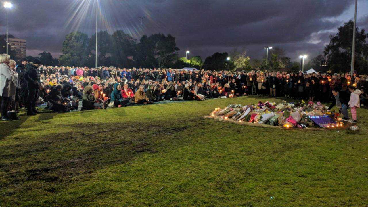 Thousands attend candlelight vigils to pay tribute to Eurydice Dixon