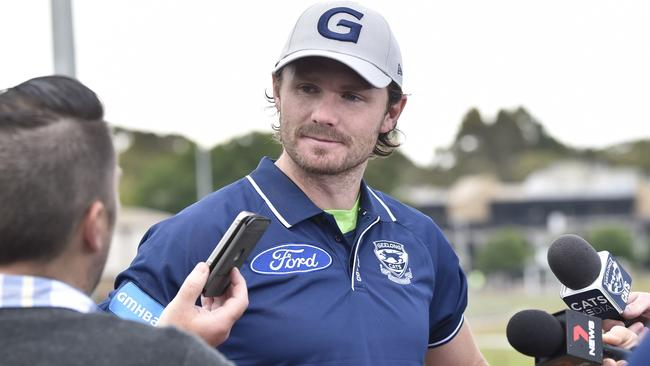 Patrick Dangerfield can be selected as a forward in SuperCoach this year. Picture: Alan Barber
