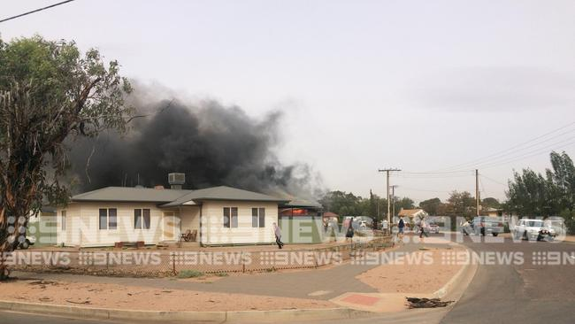 A three-year-old girl has died in hospital after the house fire in Port Augusta last week.