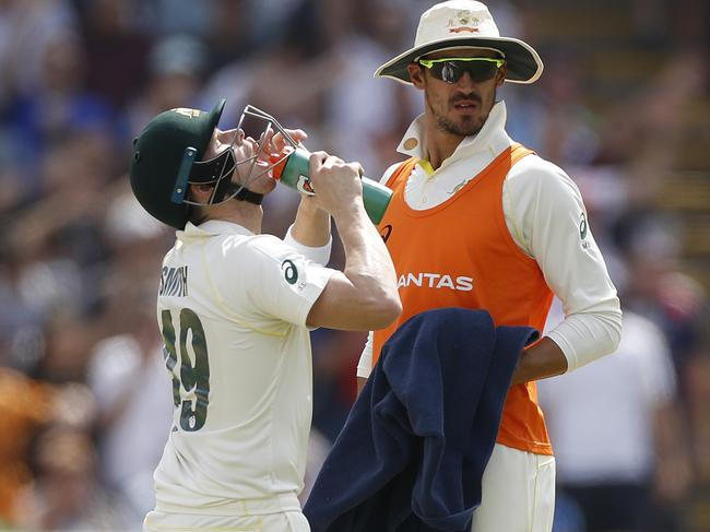 Starc will carry the drinks again at Lord's.