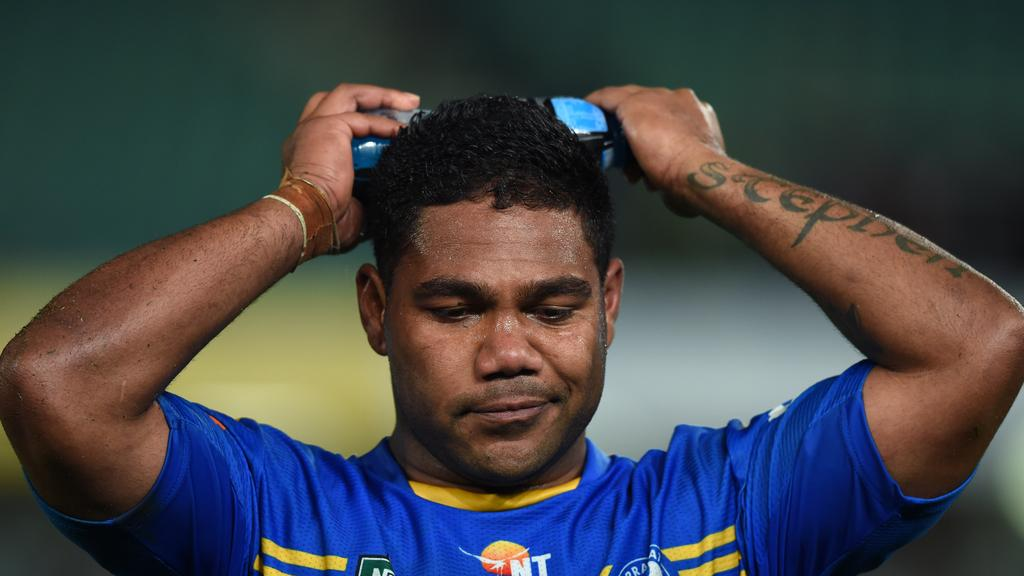 Chris Sandow has not played in the NRL since 2015 but is eyeing a comeback.