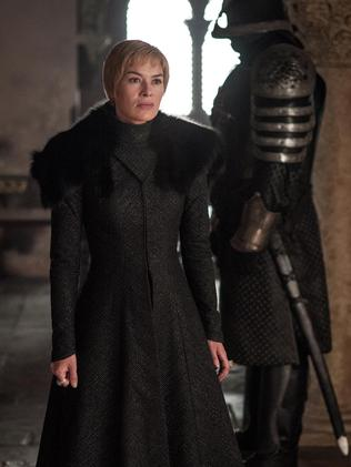 Lena Headey as Cersei Lannister.