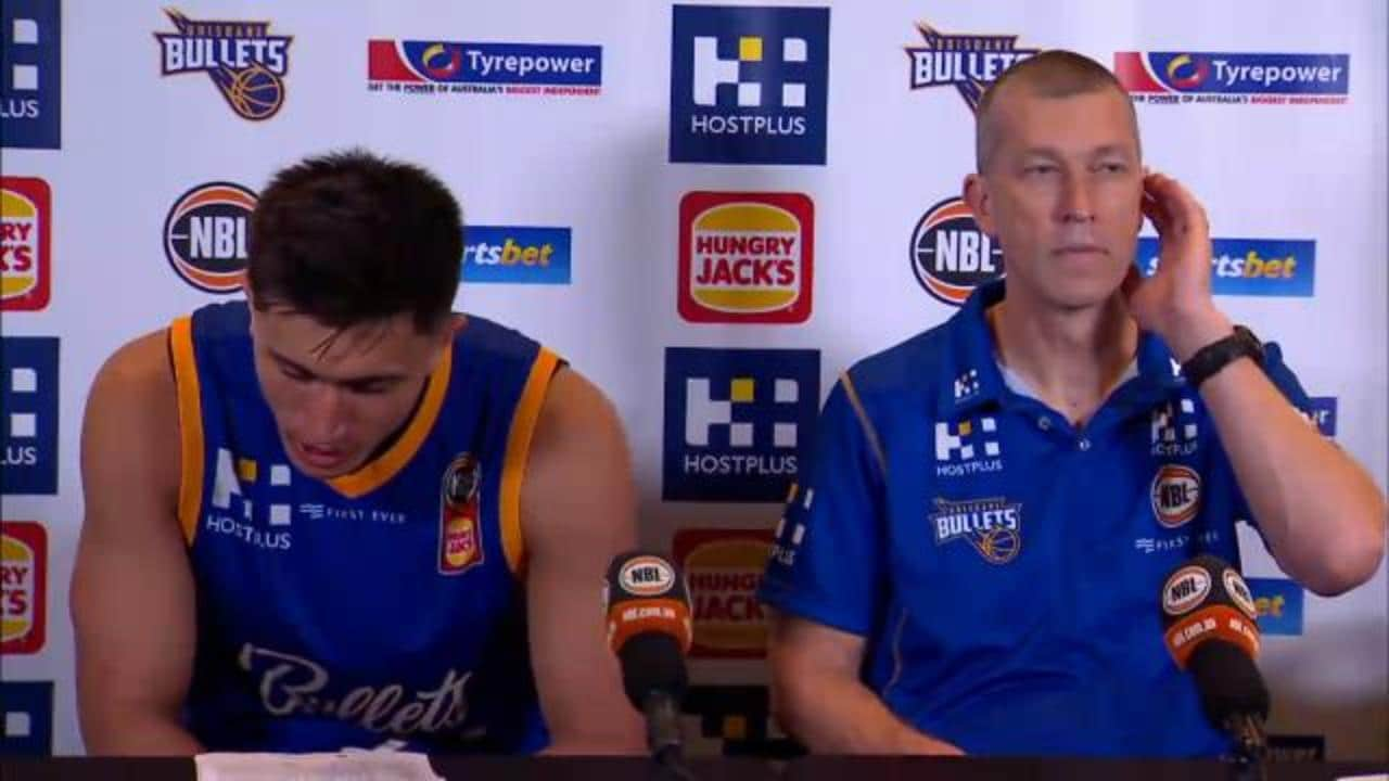 Bullets press conference