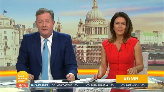 "Piers Morgan on Meghan Markle: ""If you want to be private, go back to America"""