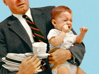 Juggling full-time work with kids has got to be the hardest thing. Image: iStock.