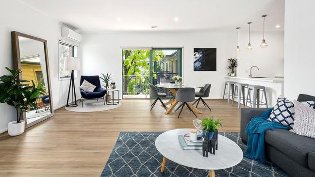 Bianca Chatfield's Kew apartment sold for $695,000.