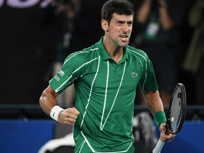 Serbia's Novak Djokovic was furious at the crowd's reaction.