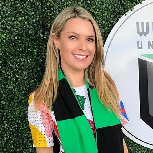 Sarah Carter, the mayor of Maribyrnong in Melbourne's inner-west, has detailed the emotional toll her breakup has taken. Picture: Instagram/Sarah Carter