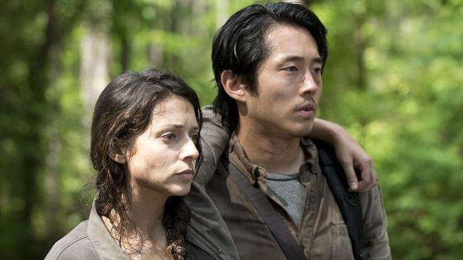 Image result for steven yeun the walking dead