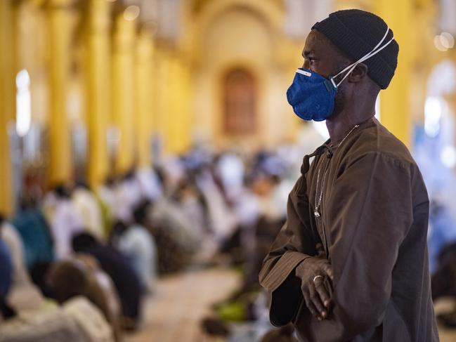 A growing number of mosques are reopening across West Africa even as confirmed coronavirus cases rise, as governments find it increasingly difficult to keep them closed during the holy month of Ramadan. Picture: Sylvain Cherkaoui/AP Photo