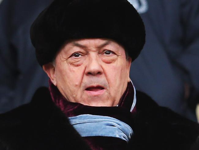 Co-owner of the West Ham United David Sullivan wants to give a homeless hero a new start. Picture: Julian Finney/Getty Images
