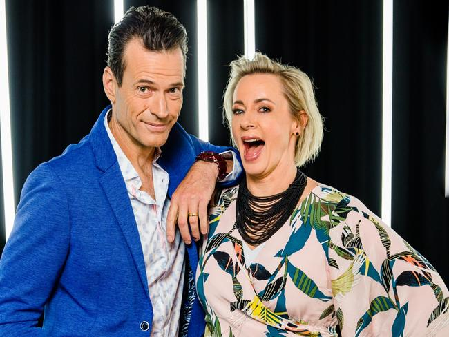 Jonesy and Amanda will helm the annual Easter countdown next month. Picture: Supplied.