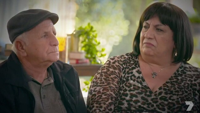 Strict Lebanese Catholic Sid and his wife Lody are against the marriage.