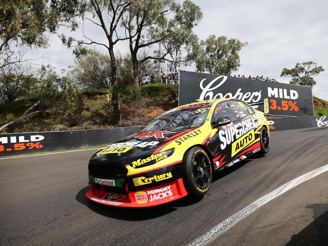 Mostert charges down The Dipper at the Bathurst 1000. Picture: Tim Hunter.