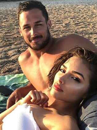Danny Amendola and Olivia Culpo. Picture: Instagram