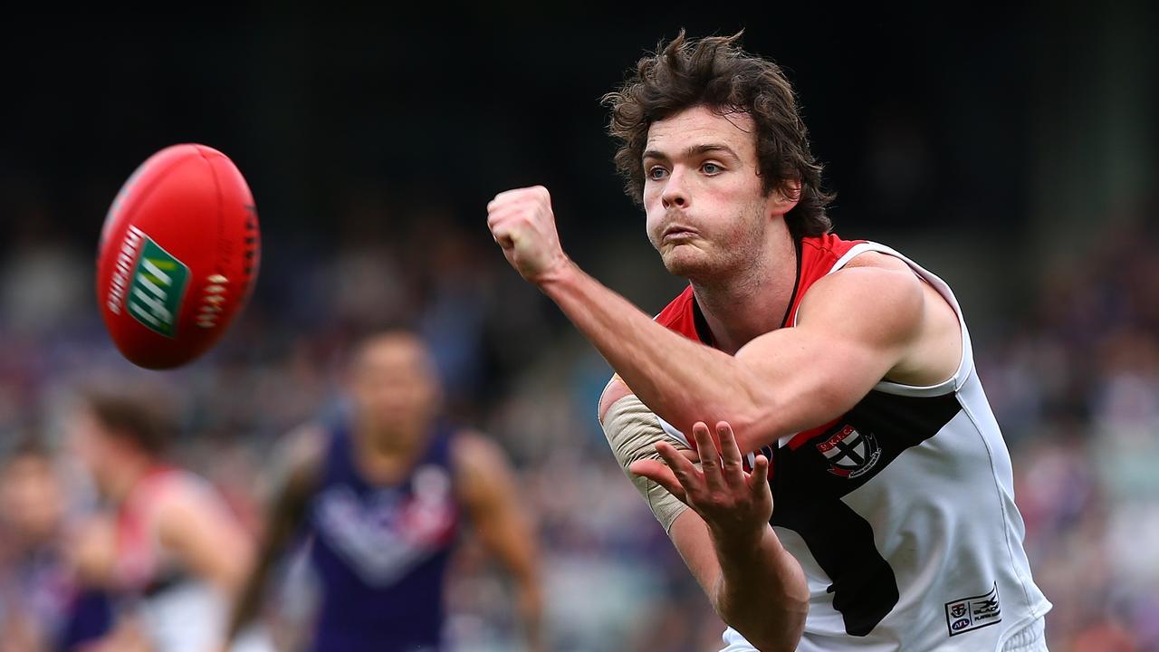 Dylan Roberton returns to the Saints line up in 2019 after a freak heart issue last season