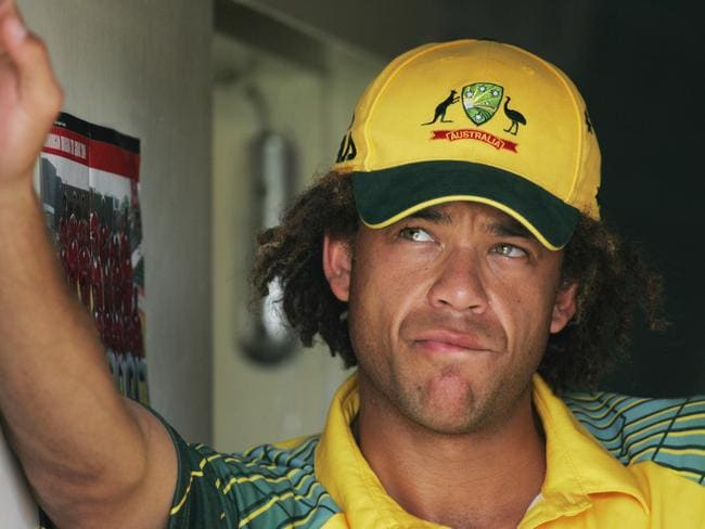 Andrew Symonds was beaten by the lure of the Normanby Hotel on occasion.