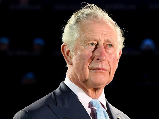 Prince Charles looks on during the Opening Ceremony for the Gold Coast Commonwealth Games. Picture: Quinn Rooney/Getty Images
