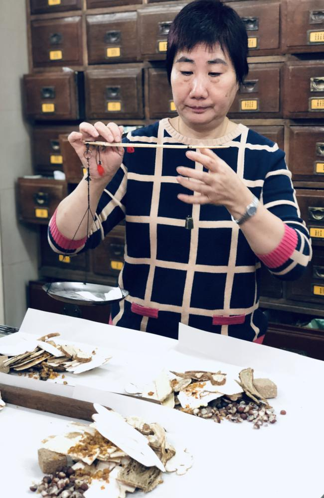 Chinese beliefs and traditional medicines are still very much part of day-to-day life in Hong Kong. Picture: Supplied