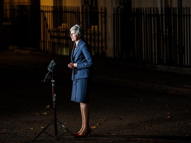 Theresa May's position as Prime Minister is under threat.