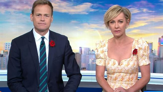 Today's Tom Steinfort and Deb Knight address Georgie Gardner's absence from the desk.