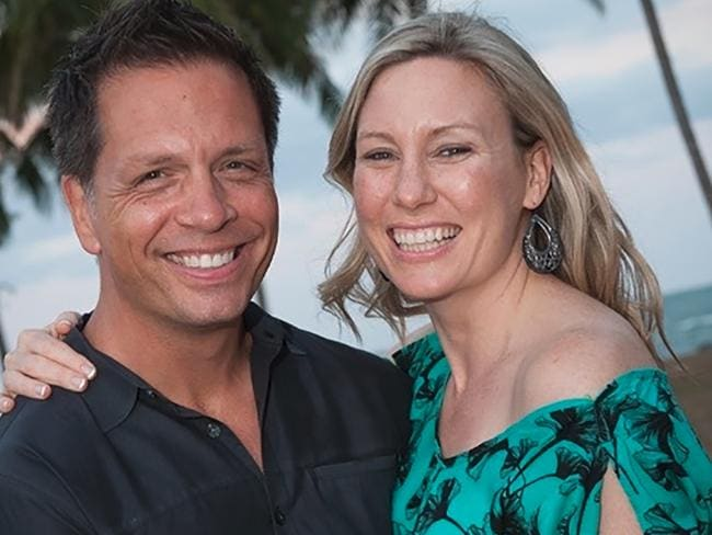 Justine Damond Ruszczyk and her fiance Don Damond. Picture: Supplied