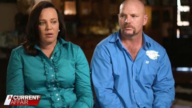 """Kate and Tick Everett appeared on A Current Affair to discuss their daughter Amy """"Dolly"""" Everett who died by suicide. Picture: Channel 9."""