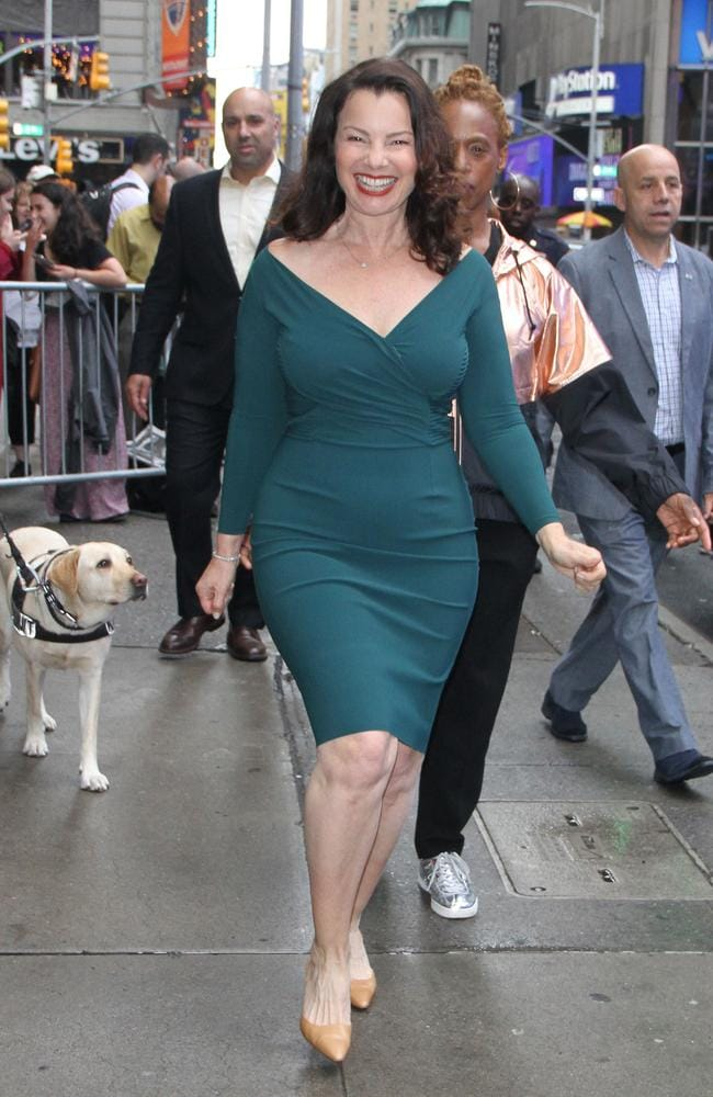 Fran Drescher in New York last week. Picture: RW/MPI/Capital Pictures / MEGA