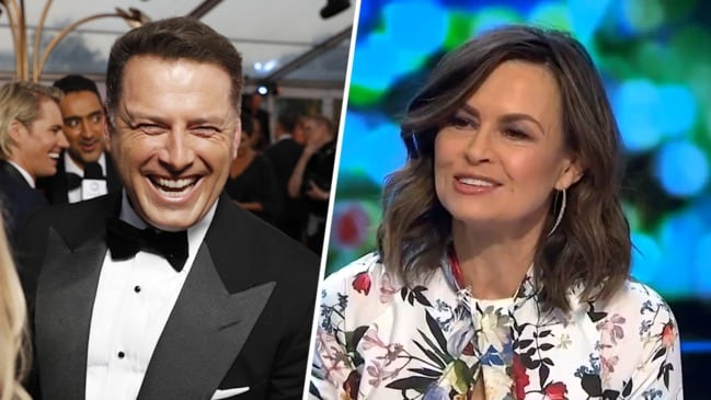 Lisa addresses rumours about Logies 'fight' with Karl