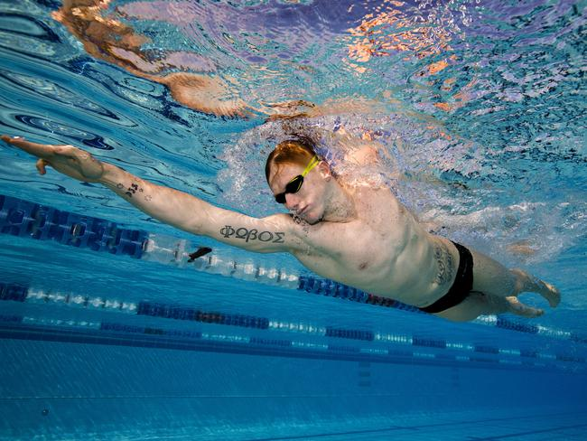 Dan Smith hasn't swum for Australia since the 2016 Games. Picture: Jerad Williams