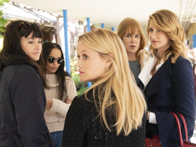 Your favourite Monterey women are back in season two of Big Little Lies. Picture: Supplied