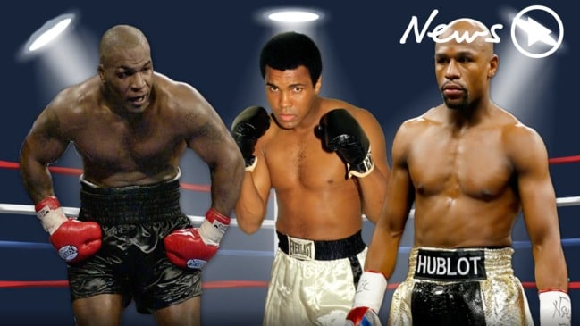 Mayweather, Ali, Tyson: The greatest boxers of all-time