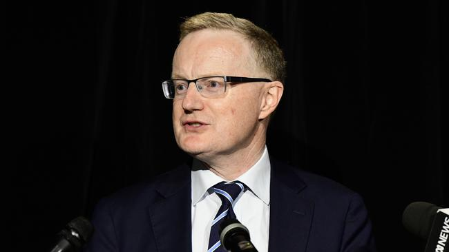RBA governor Philip Lowe cut rates to the lowest on record on Tuesday. Picture: Bianca De Marchi/AAP
