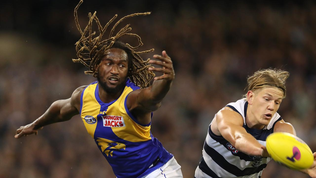Nic Naitanui may have been plagued with injuries but he made the cut. Pic: Michael Klein.