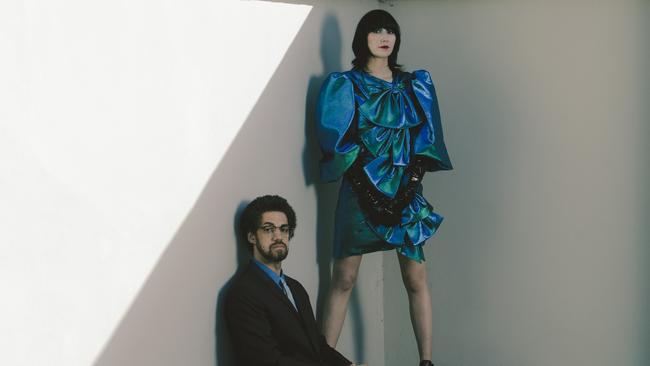 Musicians Danger Mouse and Karen O have made beautiful music together. Pic: supplied