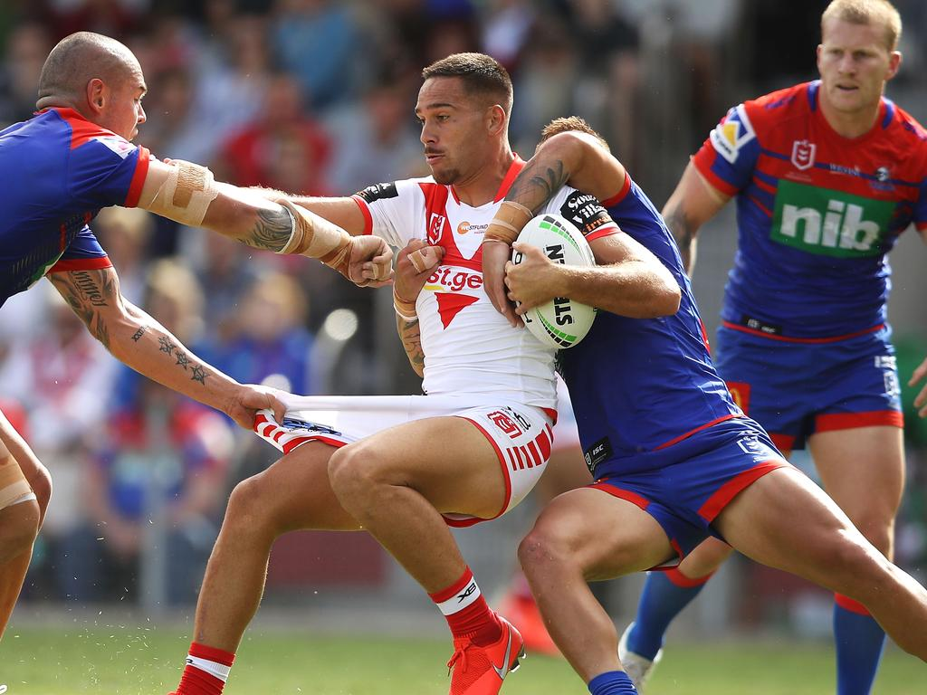 NRL Trial: Dragons v Knights