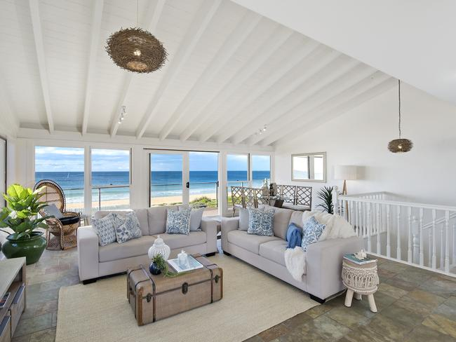Grandma's beach house with its lovely ocean view.