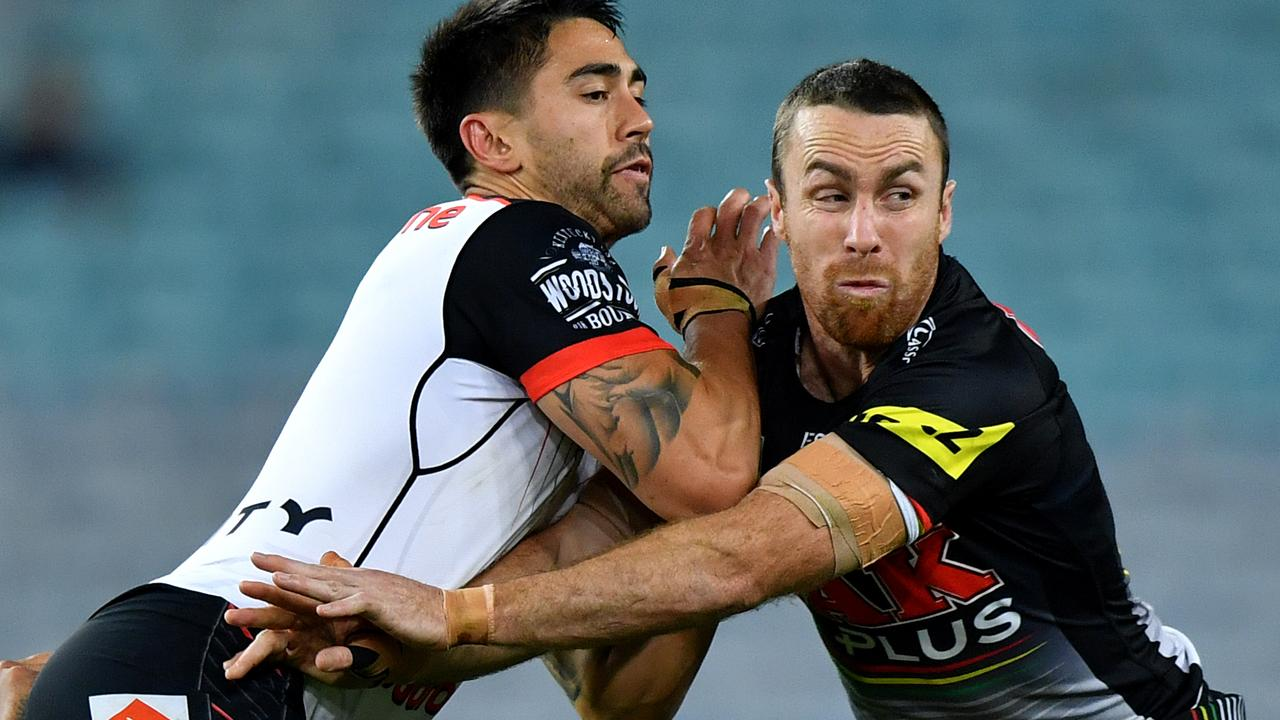 Shaun Johnson had a mixed night, while James Maloney dominated the key moments.