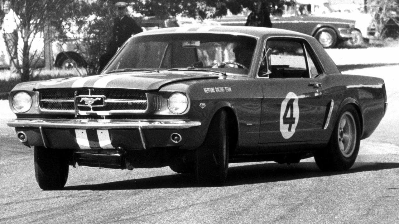 Beechey's blue Mustang pointed the way forward for Australian touring car racing.
