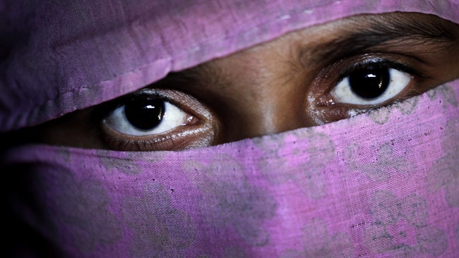 A, 20, mother of one, who says she was raped by members of Myanmar's armed forces in late August. Photo: AP Photo/Wong Maye-E.