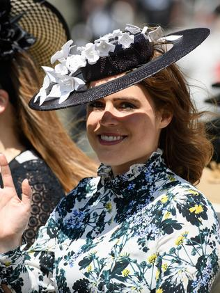 She also wore it to the races. Picture: Leon Neal/Getty Images